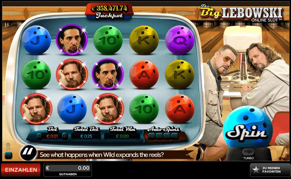 888 casino big lebowski slot