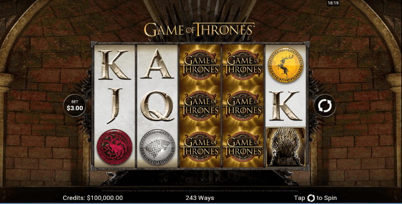 Game of Thrones Slot mobile