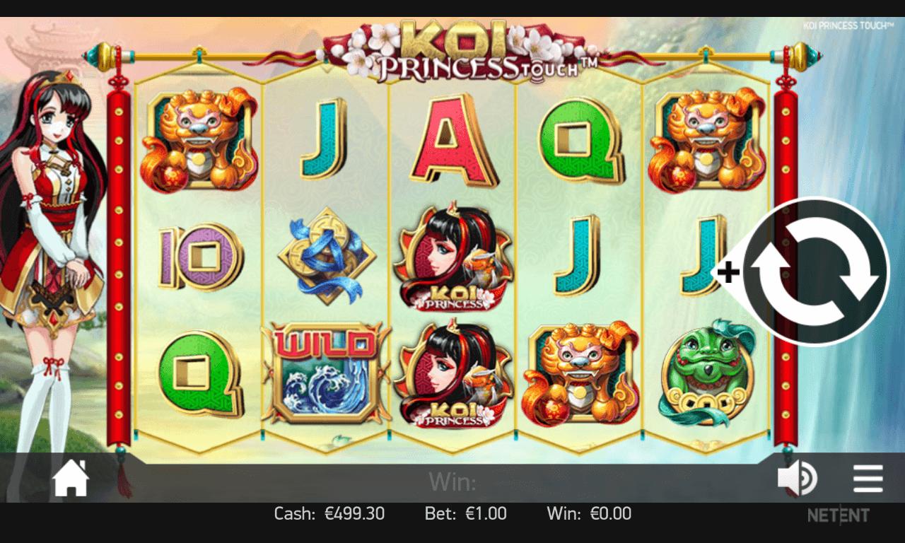 mobile koi princess spielen - screenshot