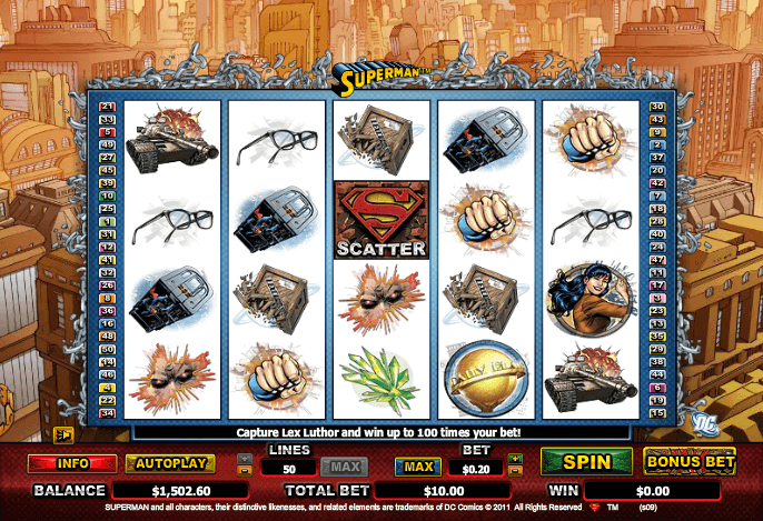 Superman Slot Spielen