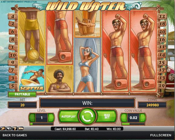 Wild Water Slot spielen