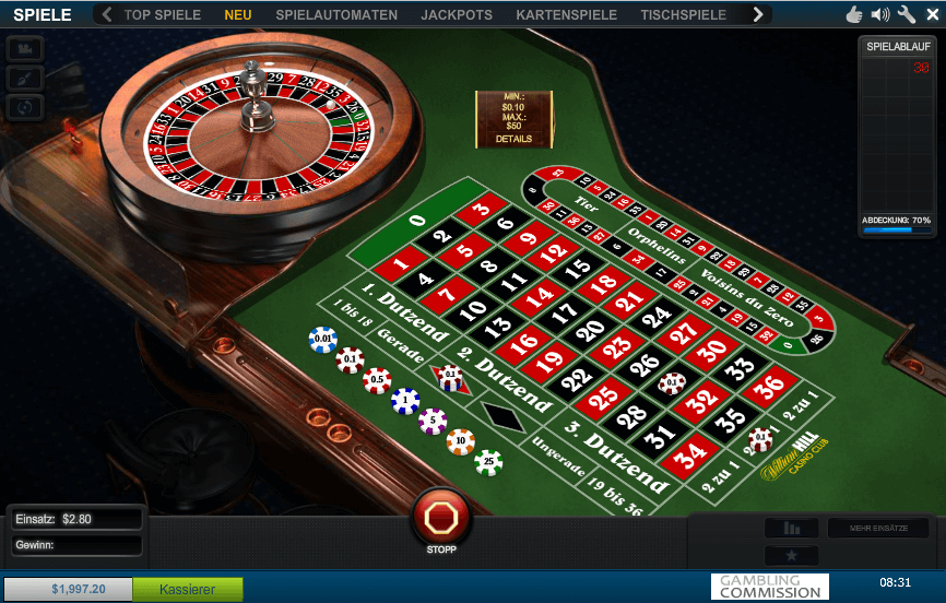 William Hill Casino Review - Online Roulette at William Hill