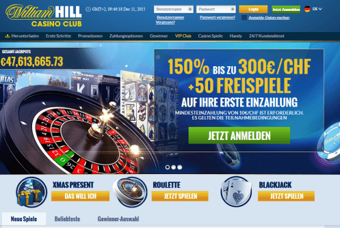 william hill casino club auszahlung
