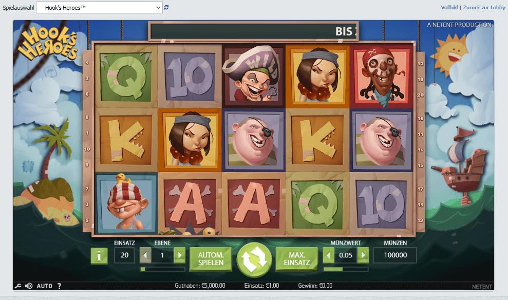 Bet at Home Casino NetEnt Slot