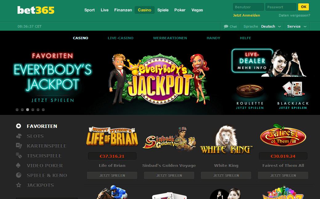Die besten Playtech Casinos - bet365