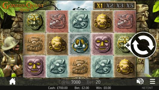 Gonzos Quest Slot mobil