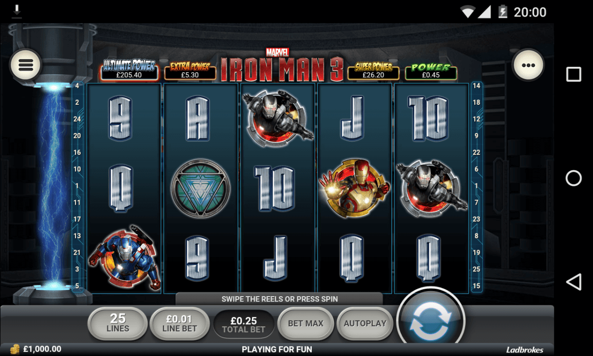 Iron Man 3 mobile