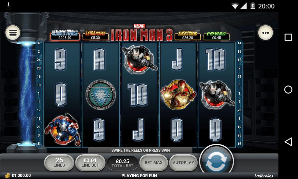 Iron Man 3 mobile