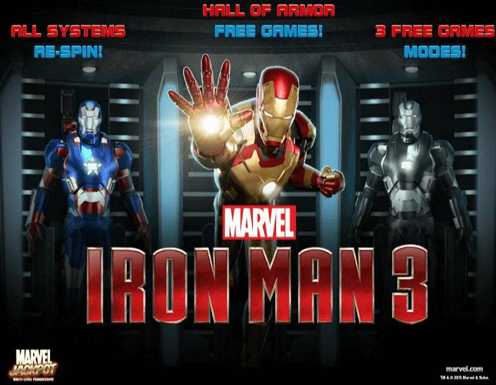 Iron Man 3 Marvel Slot