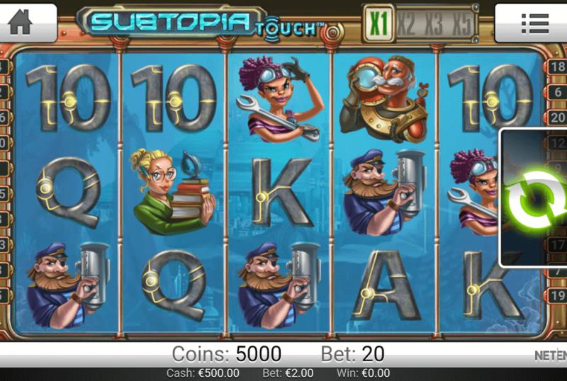 netent casinos test