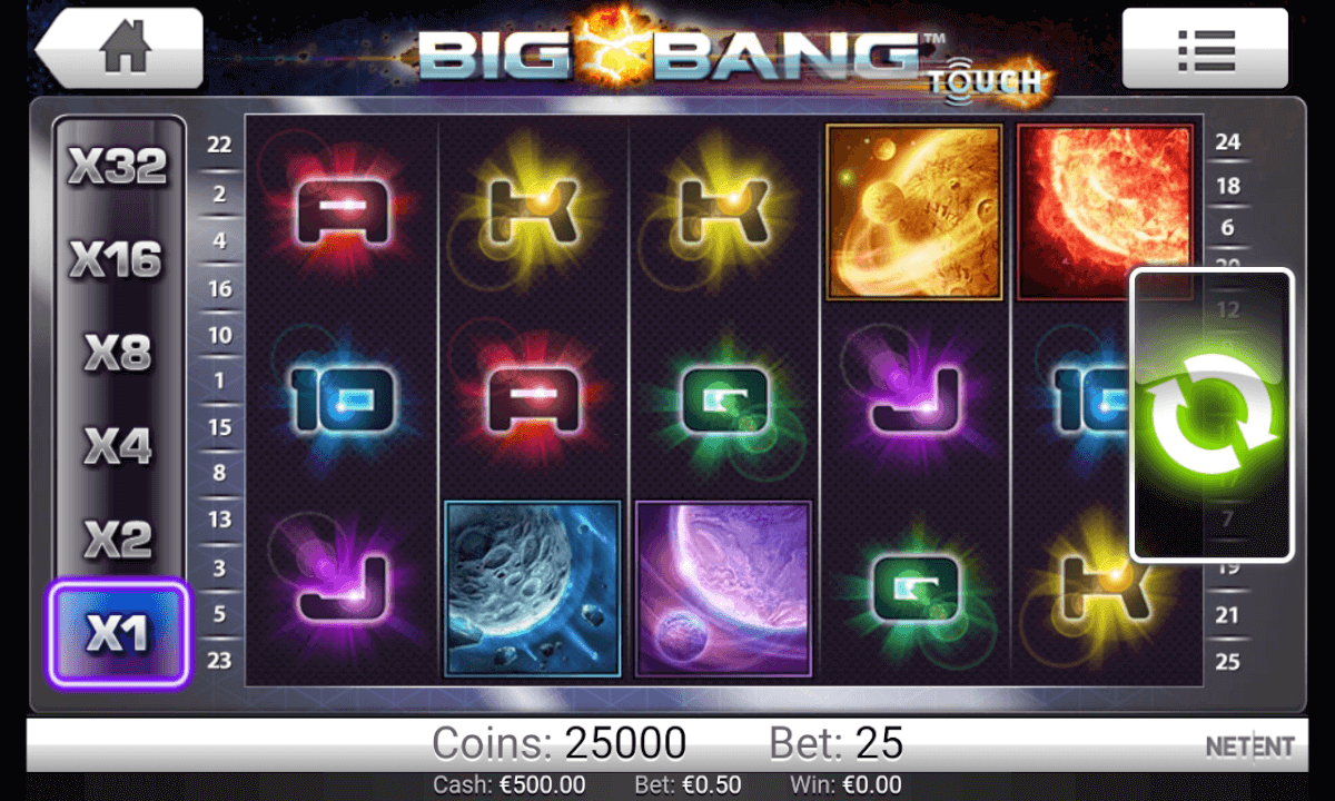 Big Bang Slot Mobil