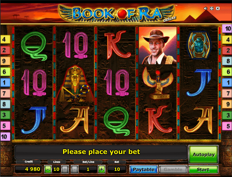 online slots book of ra oder book of ra deluxe