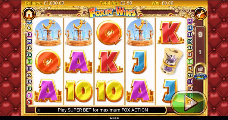 Foxin Wins mobile Spielen