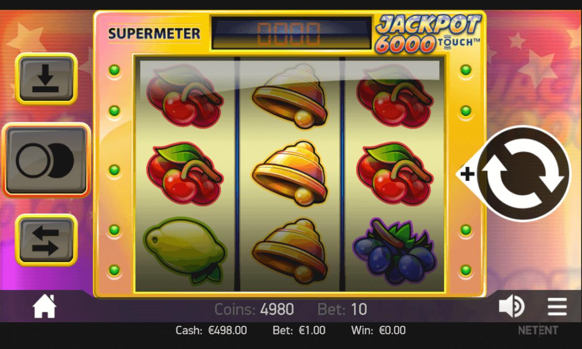 Jackpot 6000 mobil