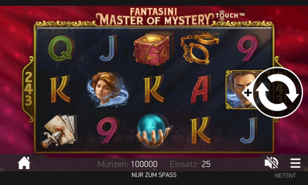 Fantasini Master of Mystery Spielen Mobil
