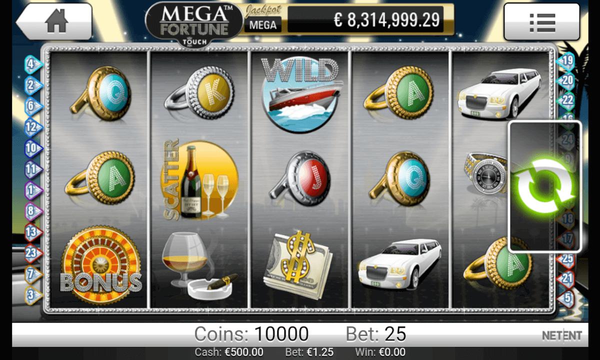 Mega Fortune Spielen Mobil