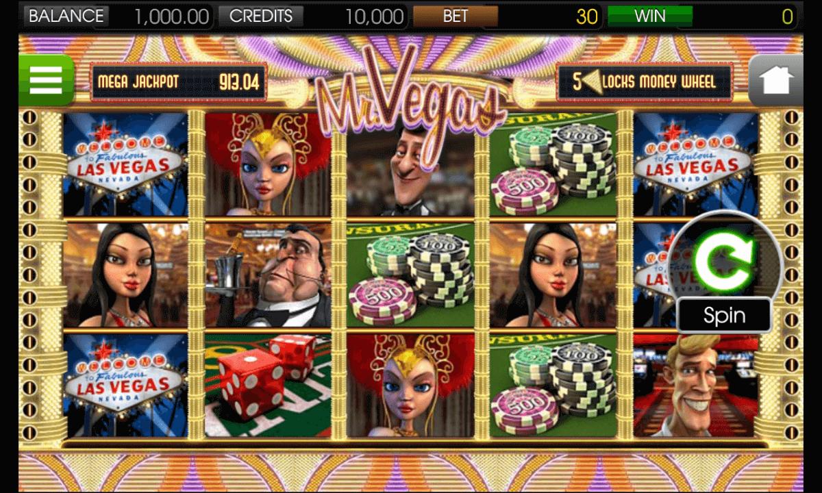 Mr. Vegas Spielen mobil