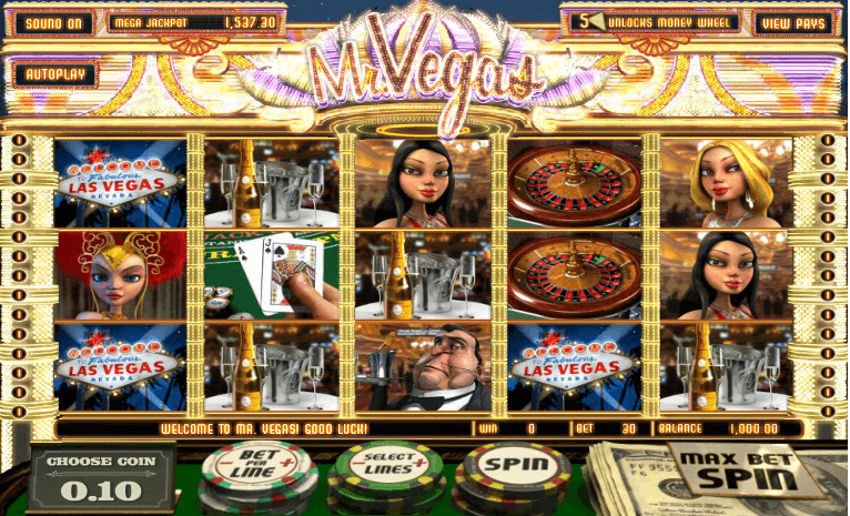 Mr. Vegas Slot