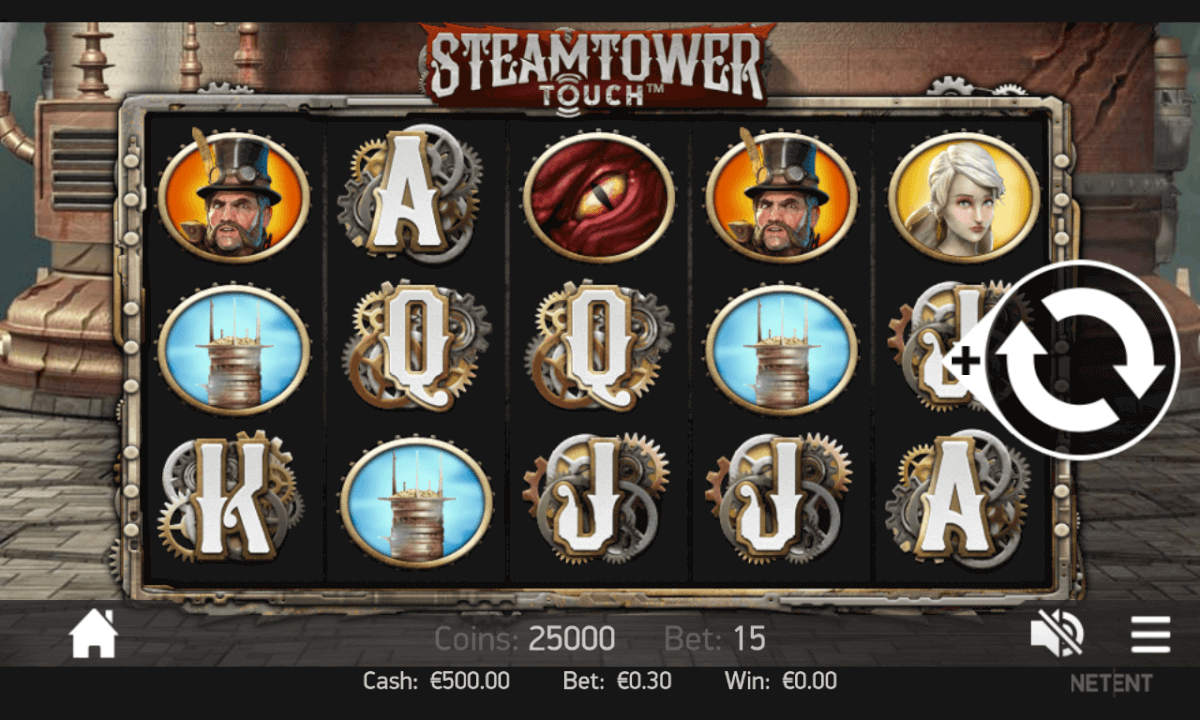 Steam tower mobil