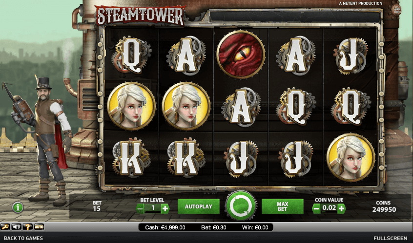steam tower spielen