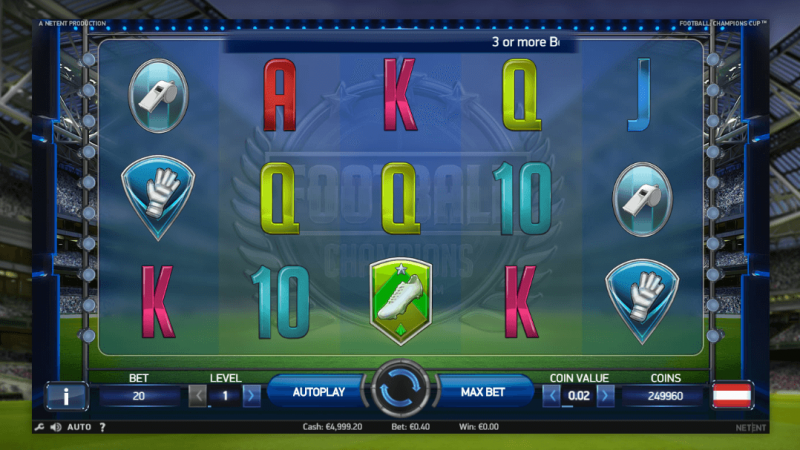 Spiele Soccer Championship - Video Slots Online