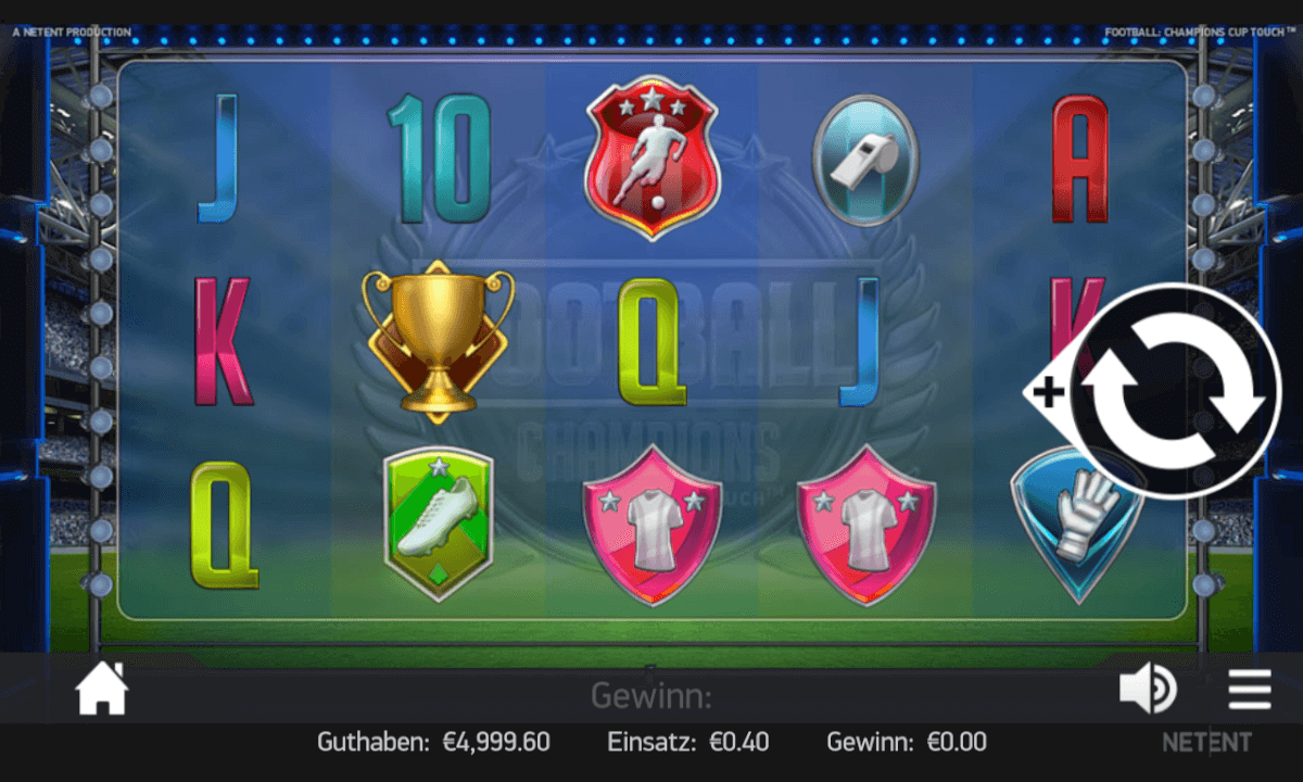 Football Champions Cup Slot Mobil