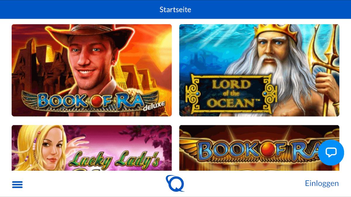 Quasargaming Echtgeld Casino App