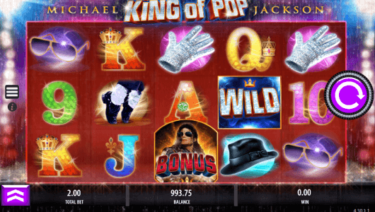 Michael Jackson King Of Pop Online Slot - Rizk Online Casino Sverige