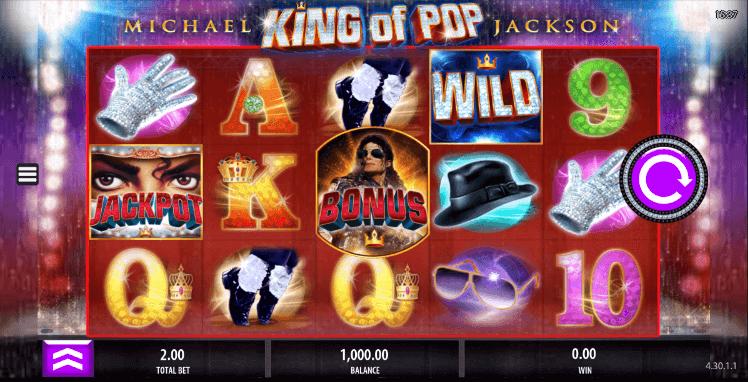 Michael Jackson King of Pop Mobil