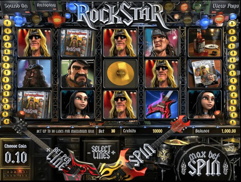 Rockstar Slot Spielen