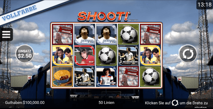 Shoot Spielen Mobil