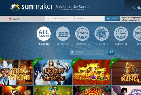 Sunmaker Casino Lobby