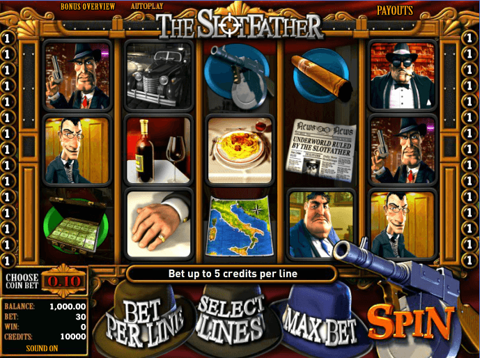The Slotfather Spielen