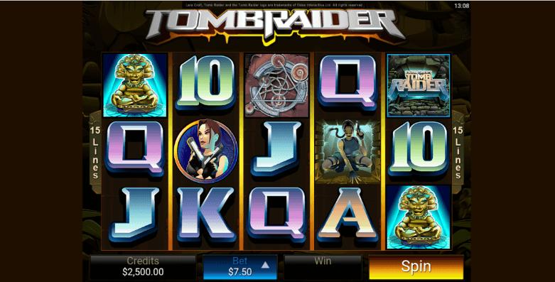 Tomb Raider Slot Spielen Mobil