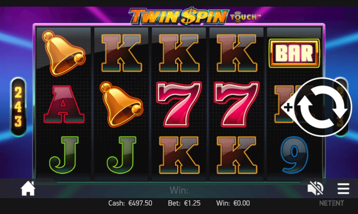 Twin Spin Spielen mobil
