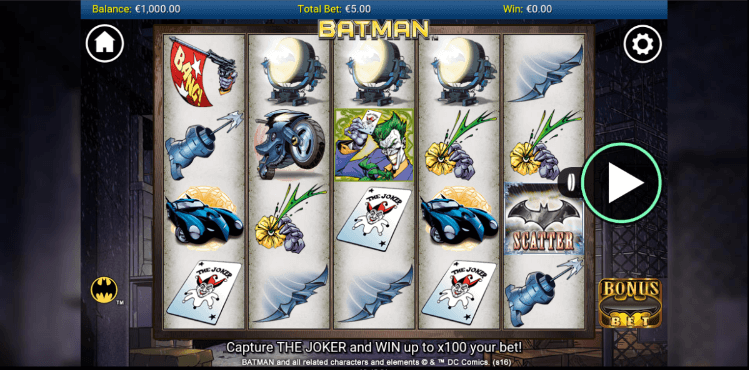 Batman Slot Spielen Mobil