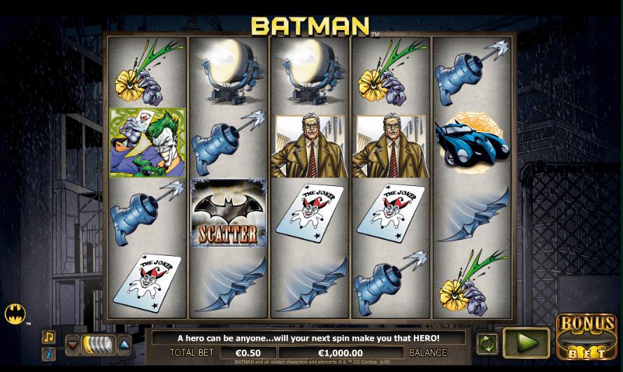 Batman Slot Spielen