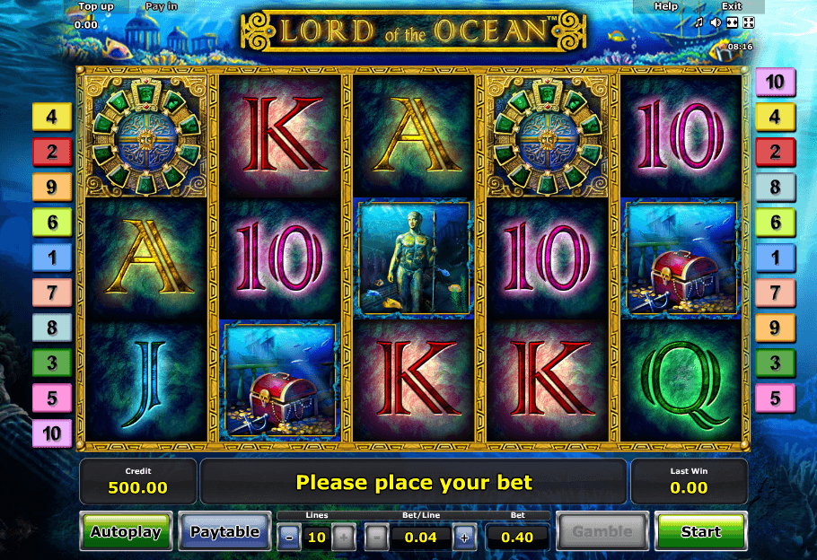Lord of the Ocean Spielen