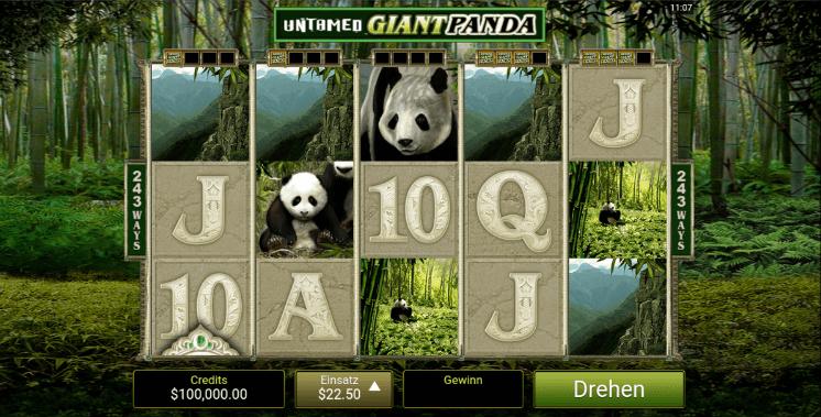 Untamed Giant Panda Spielen Mobil