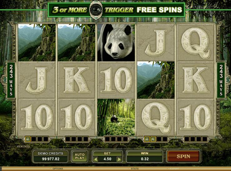 Untamed Panda Spielen