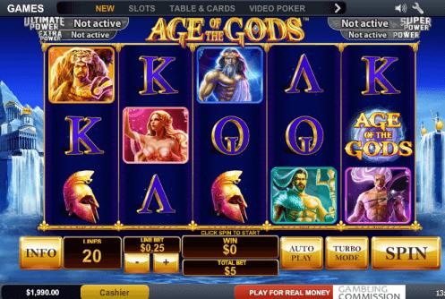 Spiele Battle Of The Gods - Video Slots Online