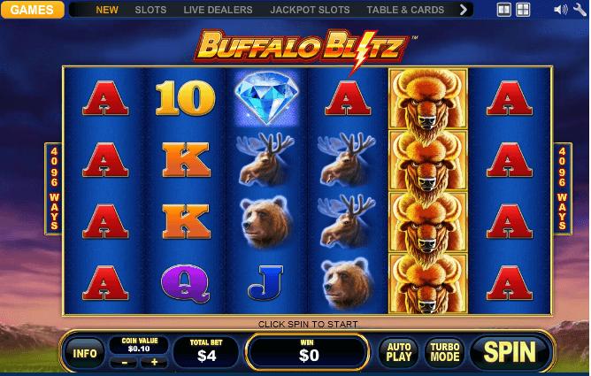 Buffalo Blitz Spielen