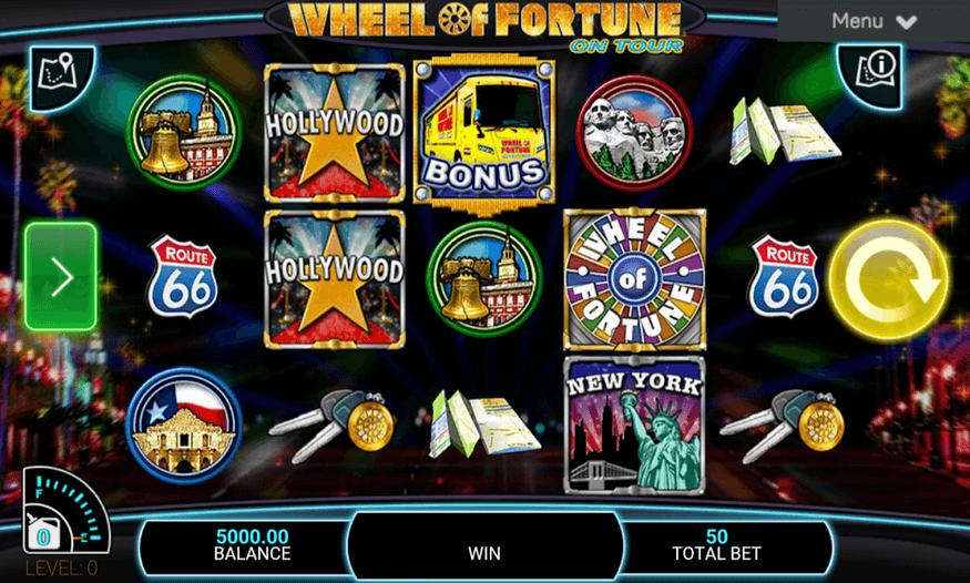Wheel of Fortune on Tour Spielen Mobil