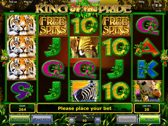 King of the Pride Slot