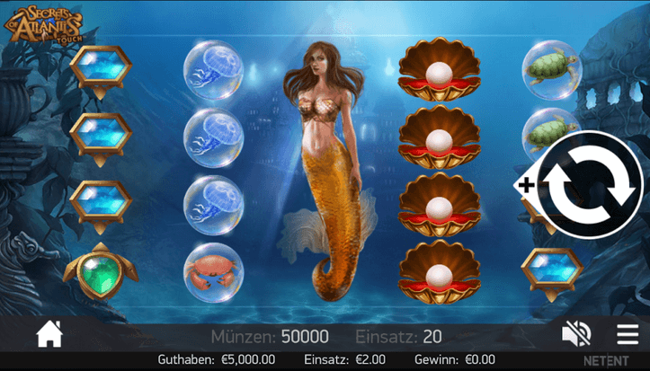 Secrets of Atlantis Slot mobil