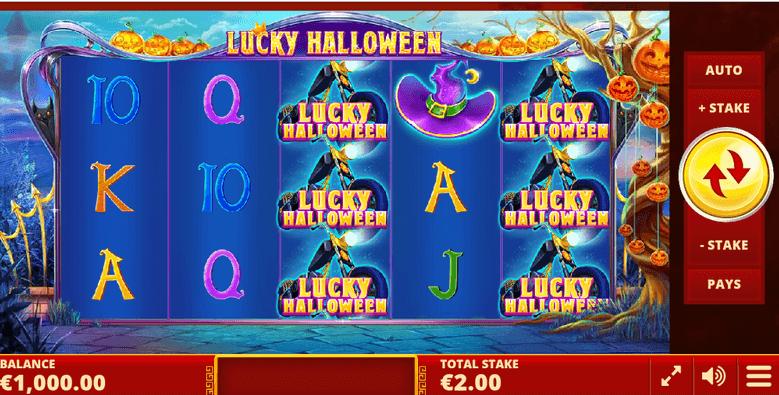 lucky halloween slot mobil
