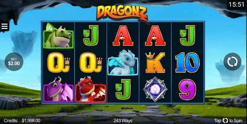 dragonz slot mobil