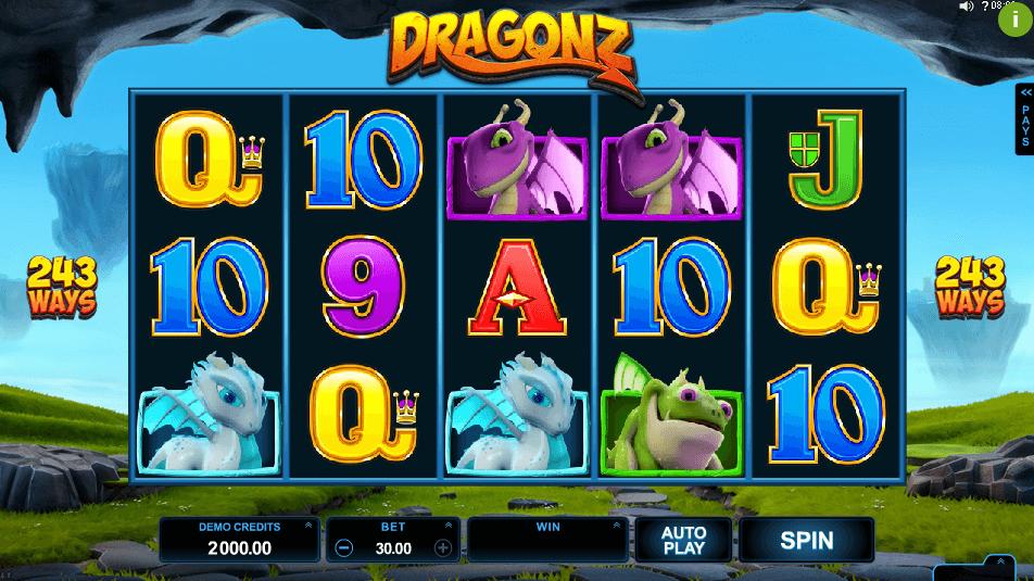 dragonz slot