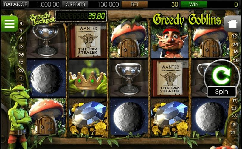greedy goblins slot mobil