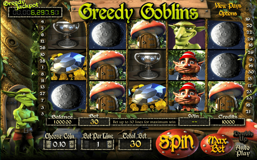 greedy goblins slot